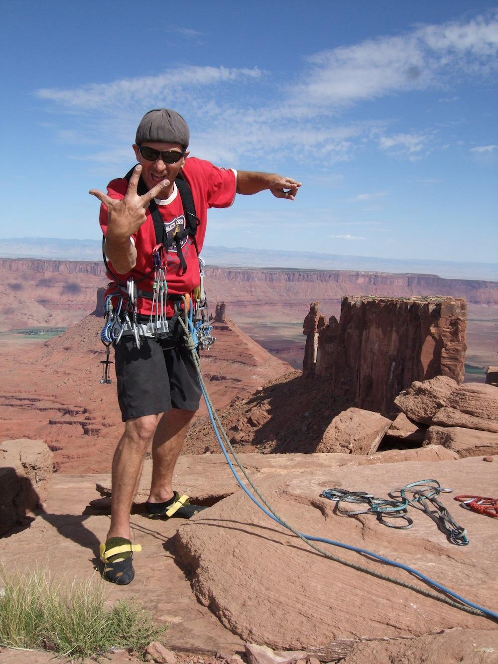 Sommet de Castleton Tower - Moab, Utah