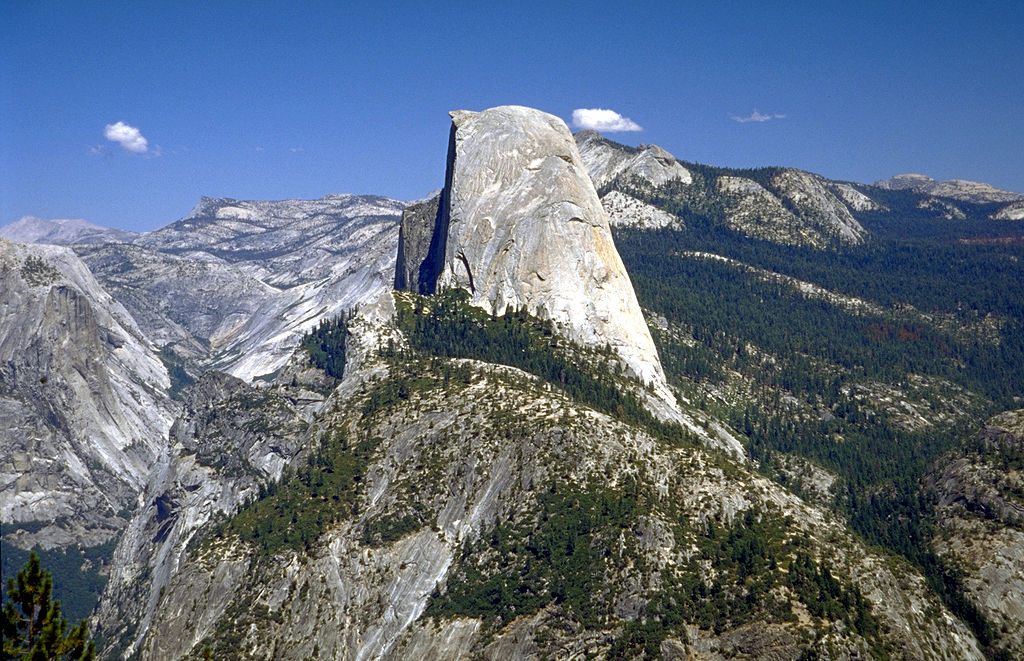 Half Dome by Wikipedia