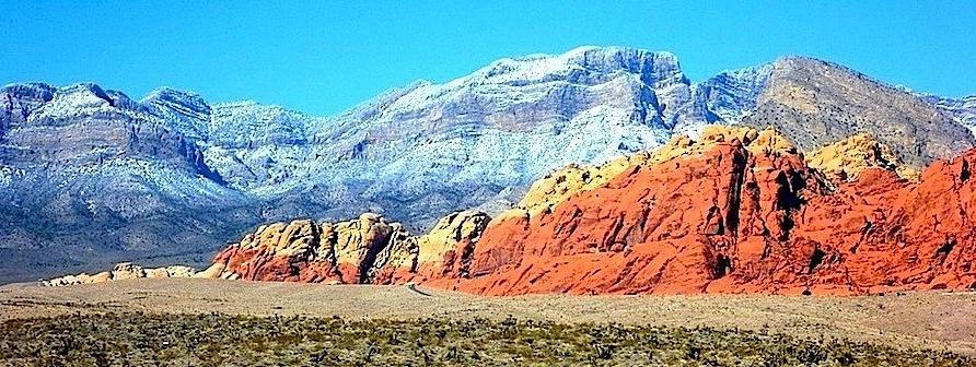 Red Rocks, près de Las Vegas dans le Nevada