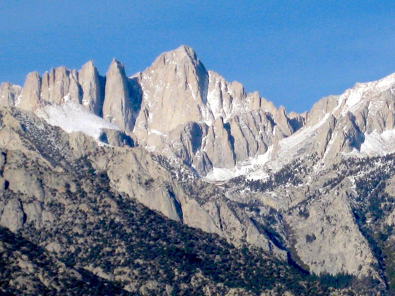 Mount Whitney (4421 m), Sierra Nevada California