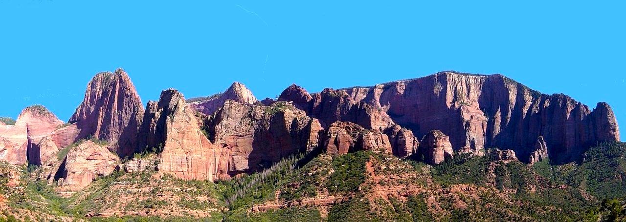 Kolob Canyon à Zion - Utah