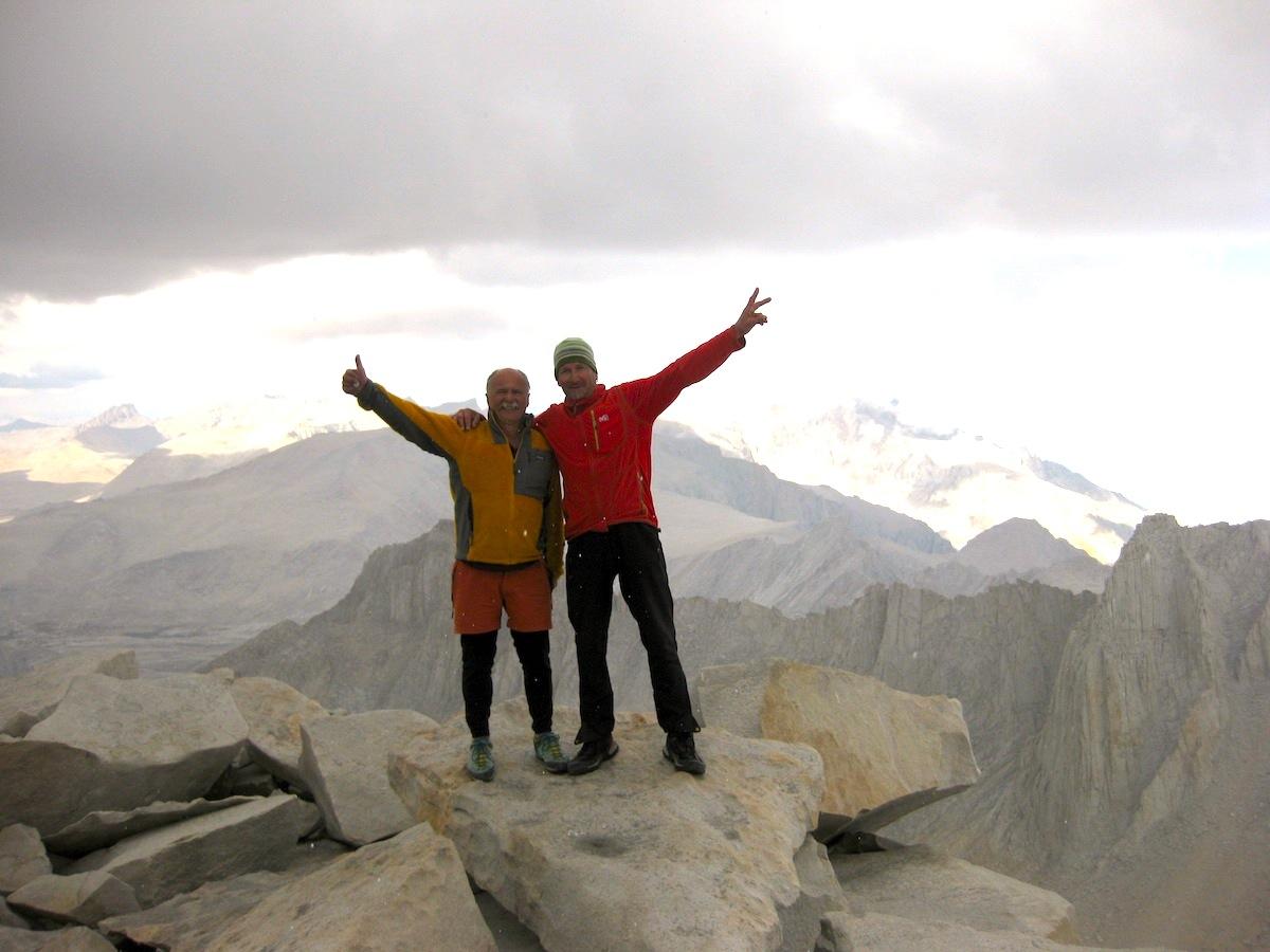 Au sommet du Mount Whitney !