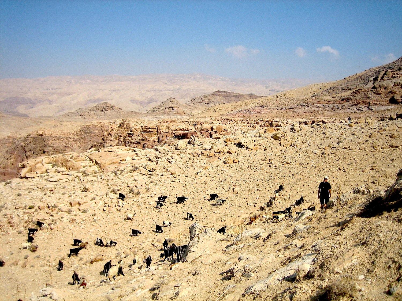 Montagnes de la Mer Morte