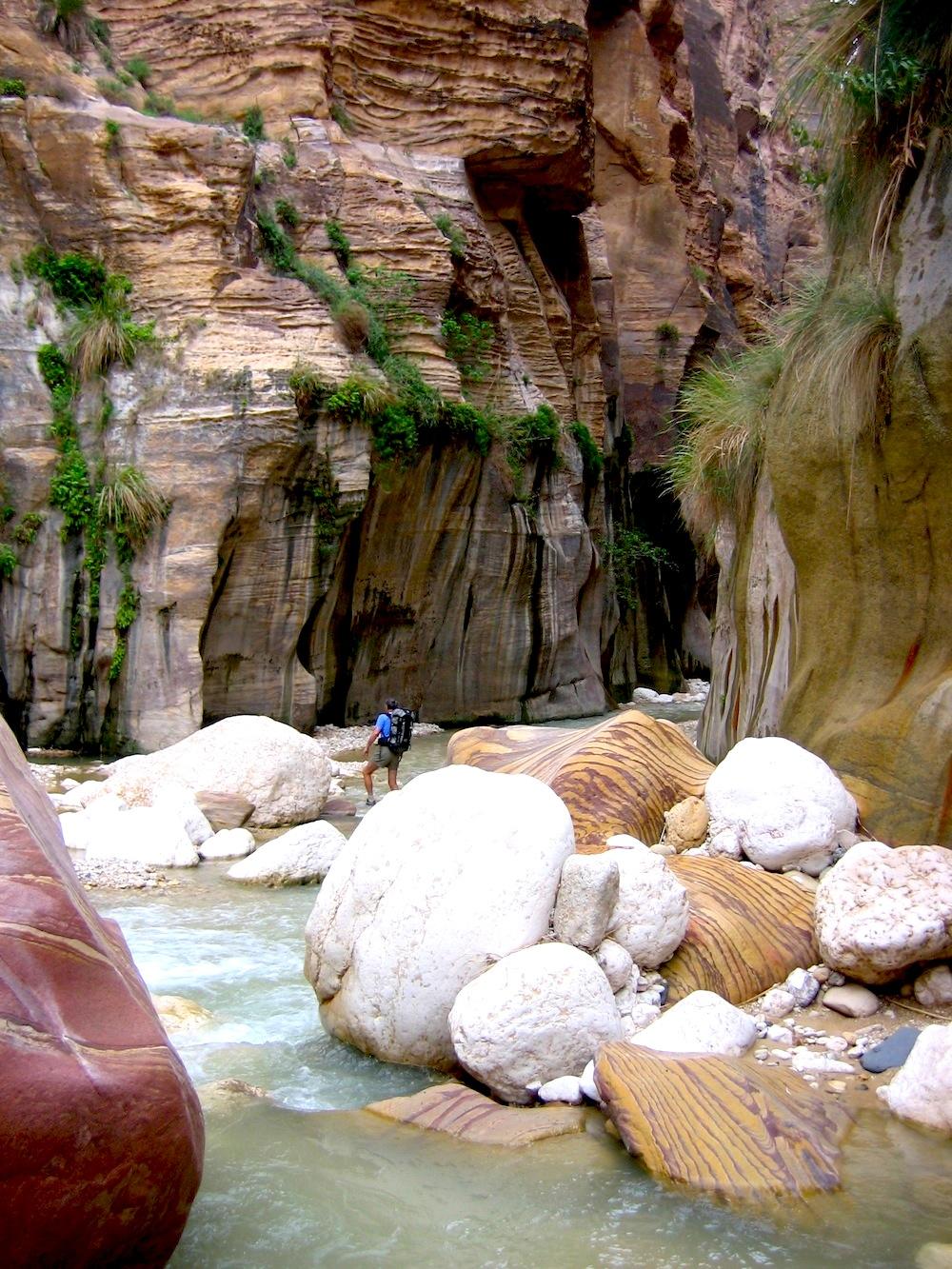 Wadi Hasa:une merveilleuse randonnée aquatique
