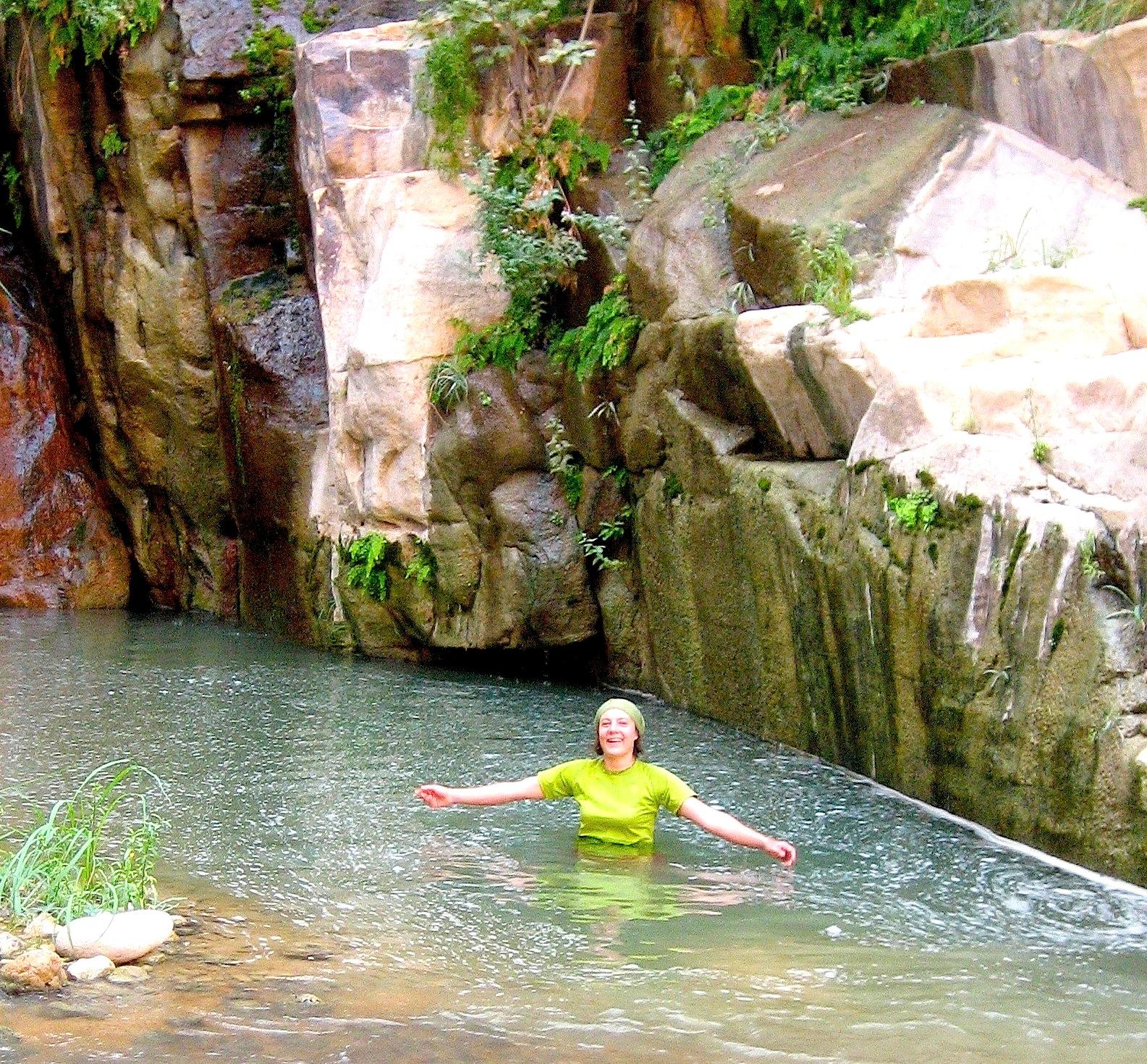 Délicieuses baignades en Wadi Hasa