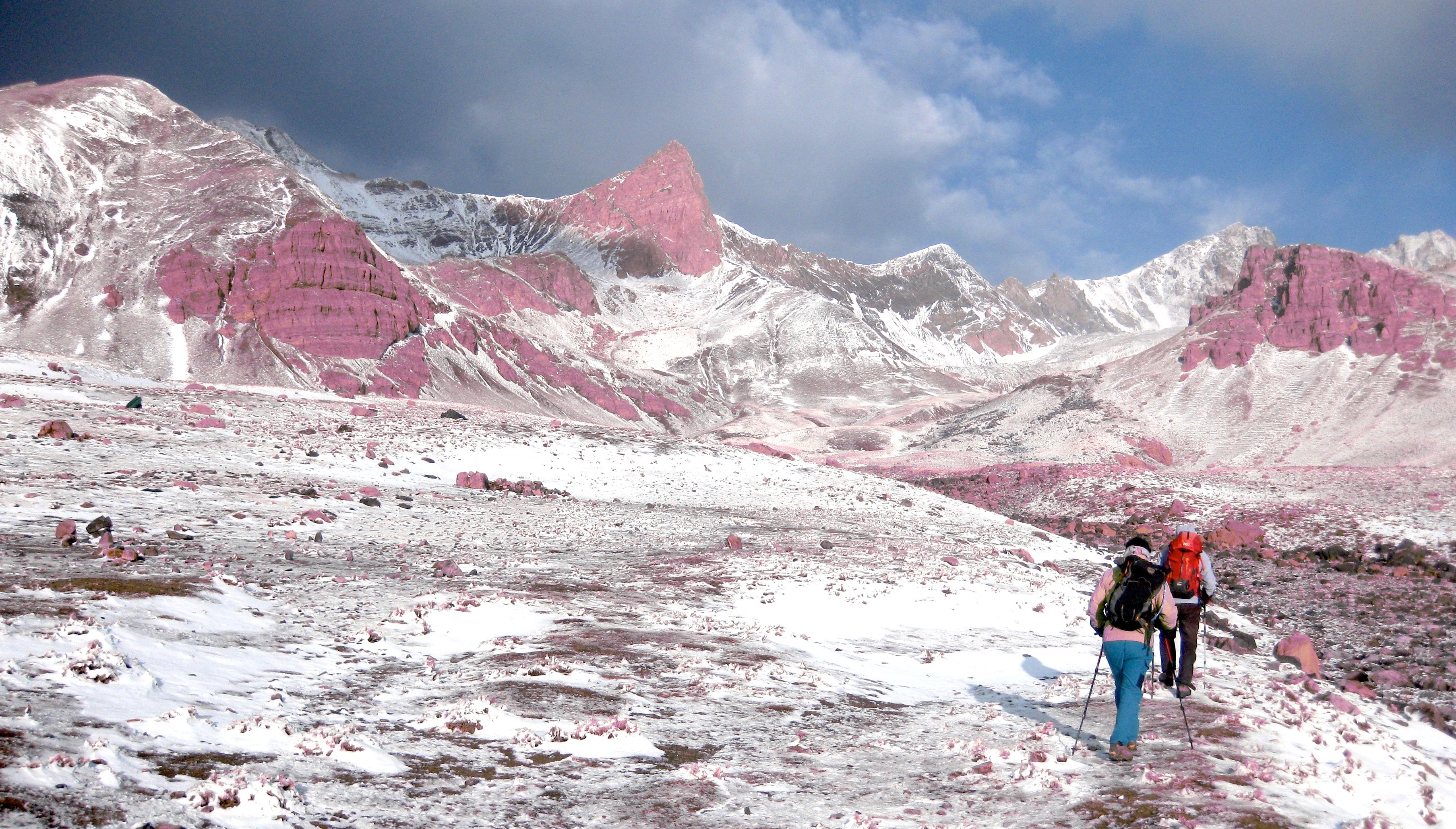 Montée à l'Alam Koh, deuxième sommet d'Iran à 4848 mètres
